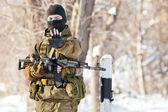 Russian soldier — Foto de Stock
