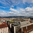 City view from St. Stephan cathedral — Stock Photo