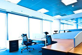 Contemporary office interior — Stock Photo