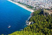 Alanya city hill — Stock Photo