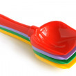 Colorful shovels - Stock Photo