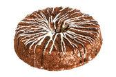 Cream cake with chocolate — Stock Photo