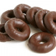Chocolate rings — Stock Photo