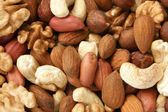 Nuts mixed — Stock Photo