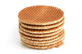 Stack of wafers — 图库照片