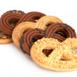 Knot-shaped pastries — Stock Photo #5053544