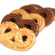 Knot-shaped pastries — Stock Photo #5079882