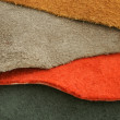 Natural variegated suede — Stock Photo
