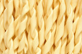 Close-up of italian pasta - spiral shaped — Stock Photo