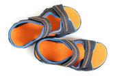 Sandalias de niño — Foto de Stock