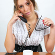 Cute businesswoman — Stock Photo