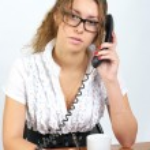 Cute businesswoman — Stock Photo #5060969