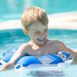 Stock Photo: Kid on pool