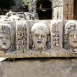 Ancient bas-relief at the amphitheater in Myra, Turkey — Stock Photo