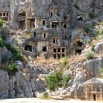 Lycian tombs in Myra, Turkey — Stock Photo #4401093