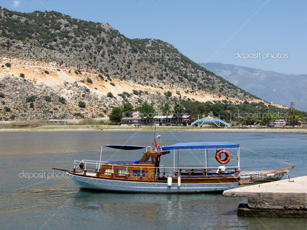 The yacht, Turkey                                 Stock Photo #4400906