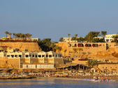 Beach at Sunset, Sharm El Sheikh, Egypt — Stock Photo