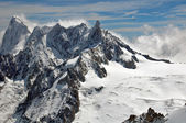 Snow Alps — Stockfoto