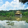 Golden pavilion — 图库照片