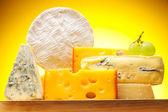 Různé druhy sýra — Stock fotografie