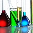 Chemical flasks — Stock Photo #4154687