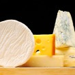 Various types of cheese — Stock Photo #4160524