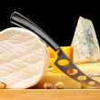 Various types of cheese — Stock Photo #4160531