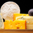 Various types of cheese — Stock Photo #4160536