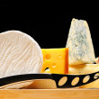 Various types of cheese — Stock Photo #4572229