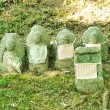 Stock Photo: Group of Japanese Stone