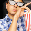 Movie critique — Stock Photo