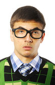 Young nerd — Stock Photo