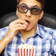 Young man at cinema — Stock Photo #4664678