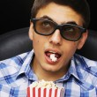 Young man at cinema — Stock Photo #4816037
