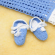 Clothes for newborn - Stock Photo