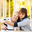 Happy mother and son — Stock Photo #4898189