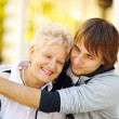 Happy mother and son — Stock Photo #4944046