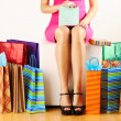 Woman with shopping bags — Stock Photo #5181060