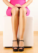 Woman's legs — Stock Photo