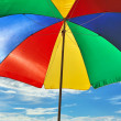 Stock Photo: Beach parasol