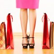 Woman with shopping bags — Stock Photo #5257944