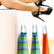 Woman with shopping bags — Stock Photo #5257959
