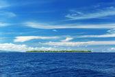 Uninhabited island — Stock Photo