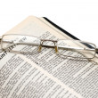 Open Bible — Stock Photo