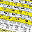 Periodic Table — Stock Photo