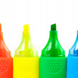 Color highlighters — Stock Photo