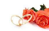 Bruiloft uitnodigingskaart — Stockfoto