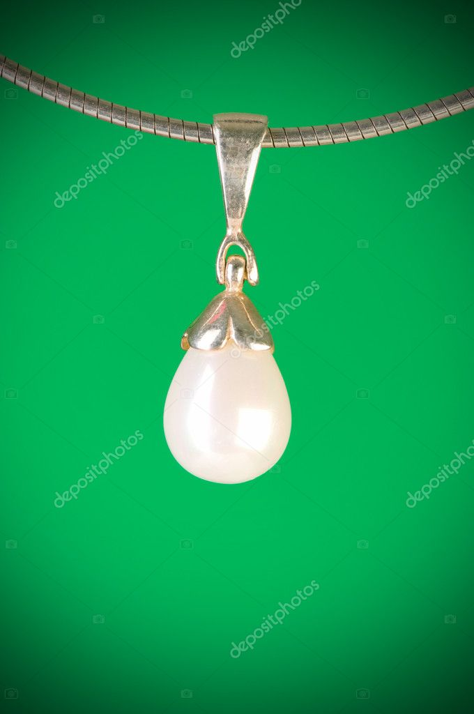 Pendant against colour gradient background — Stock Photo #4201260