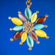 Pendant against colour gradient background — ストック写真