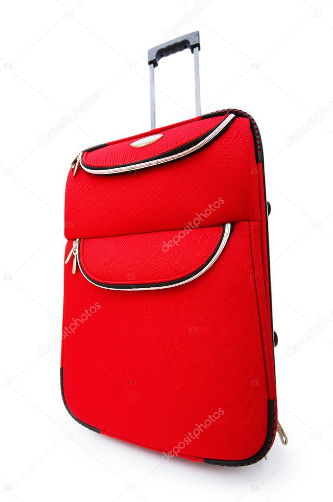 Travel case isolated on the white background — Stock Photo #4349749